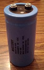 Buy Mallory CGS333U040V4C :: 33000MFD 40VDC Screw Terminal Capacitor :: FREE Shipping