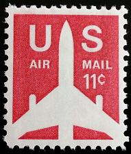 Buy 1971 11c Jet Airliner Silhouette, Air Mail Scott C78 Mint F/VF NH