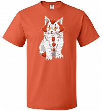 Buy kITten Unisex T-Shirt Pop Culture Graphic Tee (S/Burnt Orange) Humor Funny Nerdy Geek