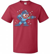 Buy Mega Maker Unisex T-Shirt Pop Culture Graphic Tee (3XL/True Red) Humor Funny Nerdy Ge