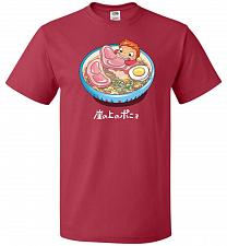 Buy Noodle Swim Unisex T-Shirt Pop Culture Graphic Tee (M/True Red) Humor Funny Nerdy Gee