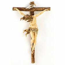 Buy 12698U - Classic Renaissance Crucifix Jesus on Cross Polyresin Plaque
