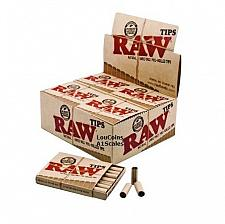 Buy 420 RAW PRE ROLLED TIPS Natural for Cigarette Rolling Paper 20 PACK/FULL BOX