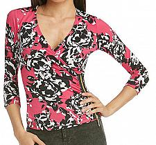 Buy NICKI MINAJ Print Shirt Top Blouse V-Neck Women's S Small SEXY Club NEW