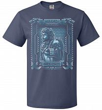 Buy Jon Snow King Of The North Adult Unisex T-Shirt Pop Culture Graphic Tee (2XL/Denim) H