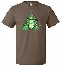Buy Treeforce Unisex T-Shirt Pop Culture Graphic Tee (M/Chocolate) Humor Funny Nerdy Geek