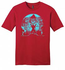 Buy Saiyan Sized Secret Youth Unisex T-Shirt Pop Culture Graphic Tee (4XL/Classic Red) Hu