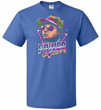 Buy Power Of Love Unisex T-Shirt Pop Culture Graphic Tee (4XL/Royal) Humor Funny Nerdy Ge