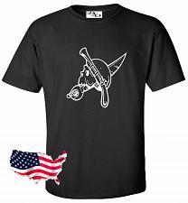 Buy Biker Skull Motorcycle Tattoo T shirt #26