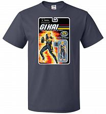 Buy GI KAI Unisex T-Shirt Pop Culture Graphic Tee (5XL/J Navy) Humor Funny Nerdy Geeky Sh