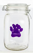 Buy :10946U - Purple Paw Pet Treat Clear Canister