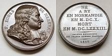 Buy 1817 French Historian F Eudes de Mezeray (1610-83) PL Bronze Medal by Caunois F.