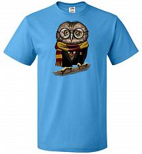 Buy Owly Potter Unisex T-Shirt Pop Culture Graphic Tee (S/Pacific Blue) Humor Funny Nerdy
