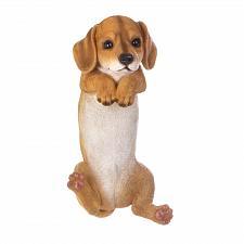 Buy *17284U - Climbing Golden Retriever Brown Puppy Koda Fence Edge Sitter Figurine