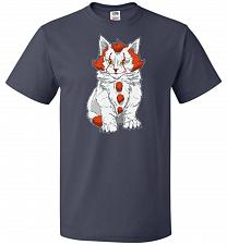 Buy kITten Unisex T-Shirt Pop Culture Graphic Tee (XL/J Navy) Humor Funny Nerdy Geeky Shi