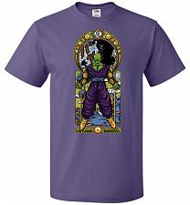 Buy Namekian Warrior Unisex T-Shirt Pop Culture Graphic Tee (S/Purple) Humor Funny Nerdy
