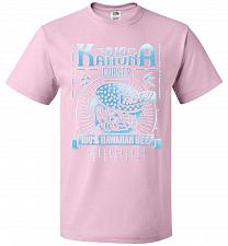 Buy Big Kahuna Burger Adult Unisex T-Shirt Pop Culture Graphic Tee (M/Classic Pink) Humor