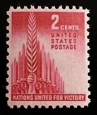 Buy 1943 2c Allied Nations, United for Victory Scott 907 Mint F/VF NH