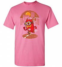 Buy Flash Minion Unisex T-Shirt Pop Culture Graphic Tee (4XL/Azalea) Humor Funny Nerdy Ge