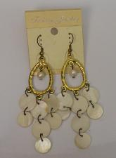 Buy Women Earrings White Shells Drop Dangle Fashion Hook Fasteners FASHION JEWELRY
