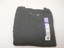 Buy Women Sweatshirt PLUS SIZE 5X Fleece Solid Grey Crewneck Long Sleeves JMS