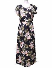 Buy Ladies Classic Orchids Full Length Aloha Dress w/ Cap Sleeves #KY-23LD-824 sz XL