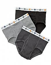 Buy 10 Pair Hanes Boy's Toddler Dyed Briefs #TB90A5 sizes 2T/3T
