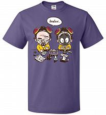 Buy My First Science Kit Unisex T-Shirt Pop Culture Graphic Tee (4XL/Purple) Humor Funny
