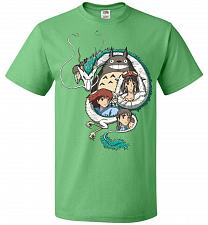 Buy Ghibli Unisex T-Shirt Pop Culture Graphic Tee (L/Kelly) Humor Funny Nerdy Geeky Shirt