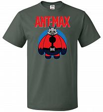 Buy Ant-Max Unisex T-Shirt Pop Culture Graphic Tee (S/Forest Green) Humor Funny Nerdy Gee