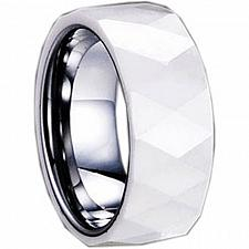 Buy coi Jewelry Tungsten Carbide Ring With Ceramic - TG1282(Size:US8.5)