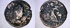 Buy 383-394AD Roman Theodosius I AE Reduced Follis -Victory Dragging Captive Left