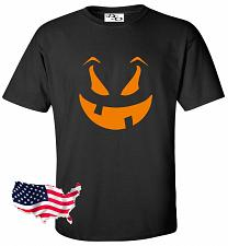 Buy Halloween T Shirt Funny Face Jack O Lantern Spooky Fun Easy Costume Tee