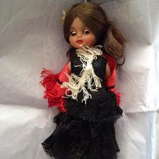 Buy Beautiful Doll with Black Lace Dress & Ref Cape 13""