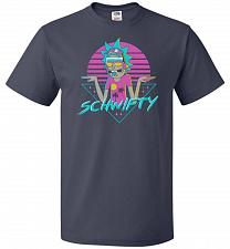 Buy Rad Schwifty Unisex T-Shirt Pop Culture Graphic Tee (S/J Navy) Humor Funny Nerdy Geek