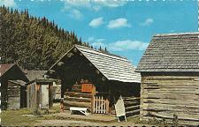 Buy Trapper Dan's Cabin near Main St and Barker Claim BC Canada POSTCARD