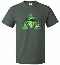 Buy Treeforce Unisex T-Shirt Pop Culture Graphic Tee (S/Forest Green) Humor Funny Nerdy G