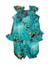 Buy Baby Girls Molokini Sea Life Top & Bottom Diaper Cover Set #176-3202 size 18 MO