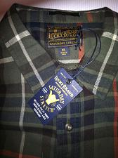 Buy Lucky Brand Saturday Stretch Work Shiirt Button Down Men`s XL