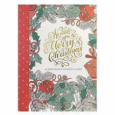 Buy :10951U - Merry Christmas Adult Coloring Book