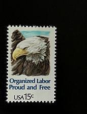 Buy 1980 15c Organized Labor, Proud & Free Scott 1831 Mint F/VF NH