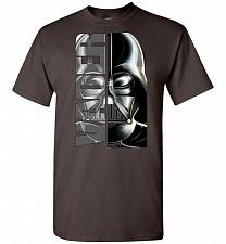 Buy Vader Unisex T-Shirt Pop Culture Graphic Tee (L/Dark Chocolate) Humor Funny Nerdy Gee