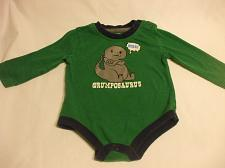 Buy George Green Baby Romper Long Sleeves 100% Cotton 6-12 months