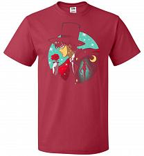 Buy Knight Of The Moonlight Unisex T-Shirt Pop Culture Graphic Tee (L/True Red) Humor Fun