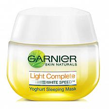 Buy Garnier Light Complete Yoghurt Sleeping Mask Whitening Night Cream 50ml