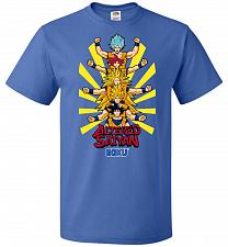 Buy Altered Saiyan Unisex T-Shirt Pop Culture Graphic Tee (3XL/Royal) Humor Funny Nerdy G