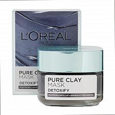 Buy L'Oreal Paris Pure Clay Mask Detoxify 50 grams