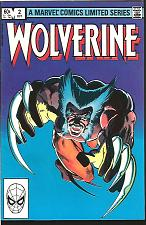 Buy Wolverine #2 Marvel Comics 1st print 1st Series Frank Miller HIGH GRADE