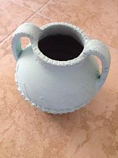 Buy Turquoise Colored Ceramic Urn Pottery with Handles