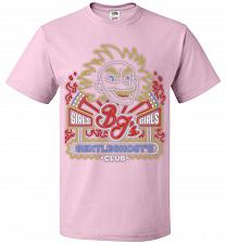 Buy Bjs Gentleghost's Club Adult Unisex T-Shirt Pop Culture Graphic Tee (4XL/Classic Pink